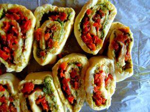 Recette Brioches au pesto et tomates séchées
