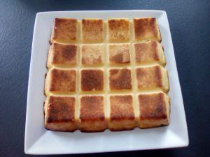 Recette Flan pâtissier dans le moule tablette