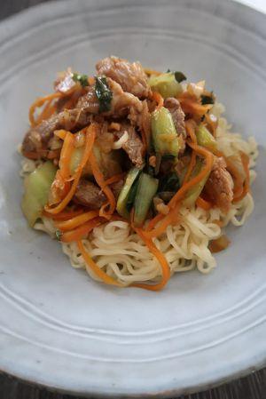 Recette Wok de porc caramélisé aux légumes