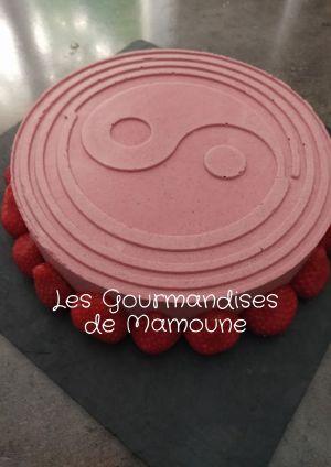 Recette Entremets fruits rouges, panna cotta vanille