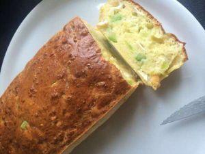 Recette Cake courgette et chèvre - recette de cake à la courgette