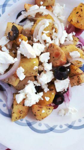Recette Pommes de terre à la Grecque