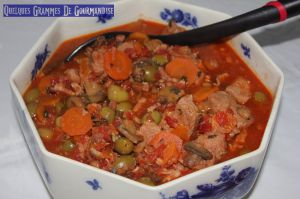 Recette Sauté de veau aux olives #Cookeo