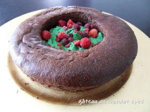 Recette Gâteau au chocolat épicé