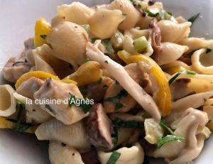 Recette Tofarelle au poulet et aux champignons