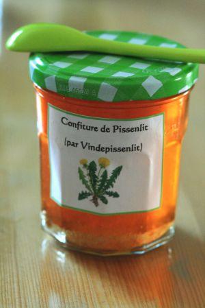 Recette Terroir Vendéen: Confiture De Pissenlit