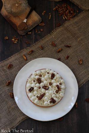 Recette Tarte à la vanille et noix de pécan