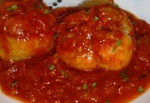 Recette Paupiettes de porc à la sauce tomate