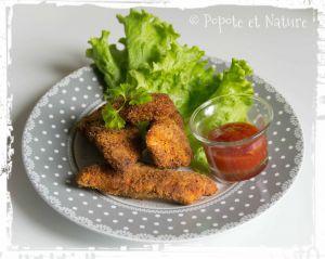 Recette Nuggets de poulet panés Jerk jamaïcain