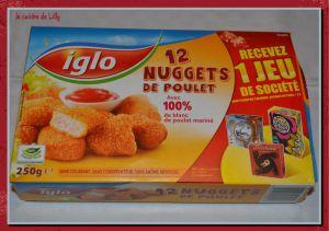 Recette Nuggets de poulet Iglo