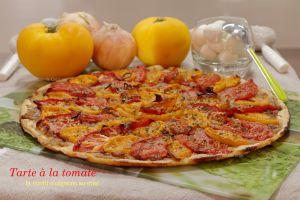 Recette Tarte à la tomate et confit d'oignon Jean Martin