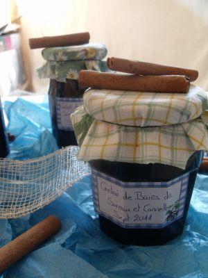 Recette Gelée de baies de sureau et cannelle