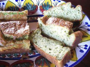 Recette Cake courgette et pesto