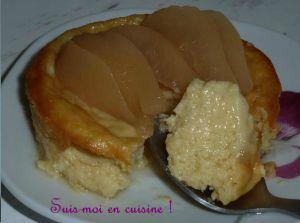 Recette Petites tartes façon amandines aux poires