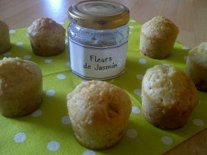 Recette Mini muffins Amande Jasmin