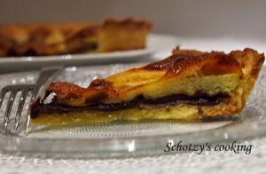 Recette Tarte aux poires & chocolat