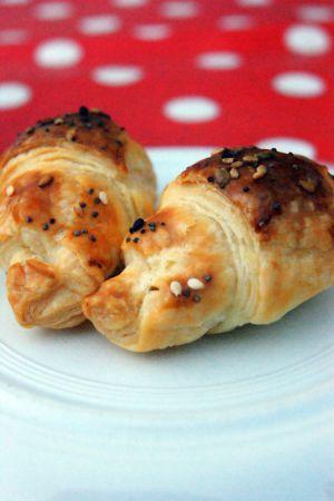Recette Mini Croissants à la Féta