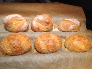 Recette Pains et pains aux gruyère