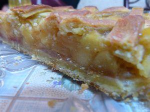 Recette Tarte aux pommes et poires
