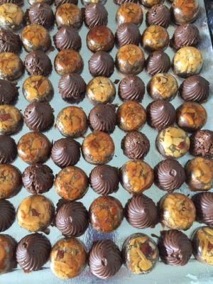 Recette Tourbillons chocolat Gavotte et croustillant nougatine aux chocolat