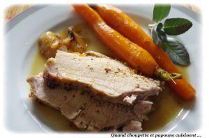 Recette Cocotte de porc aux carottes confites