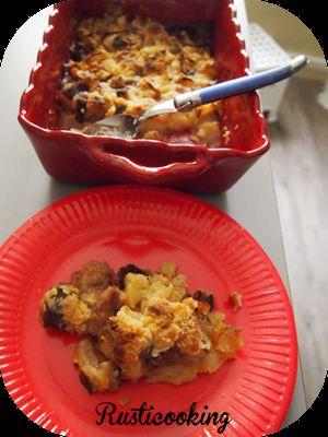 Recette Crumble pommes/chocolat