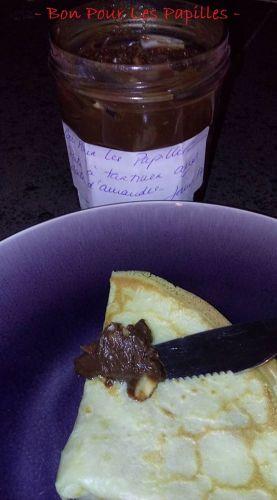 Recette Pâte à tartiner aux amandes