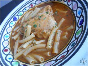 Recette Pâtes en sauce, Macarona jariya