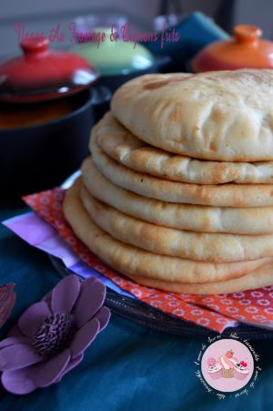 Recette Naans Au Fromage & Oignons Frits