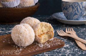 Recette Boules de noix de coco à la confiture