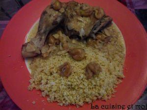 Recette Cuisses de poulet aux mirabelles