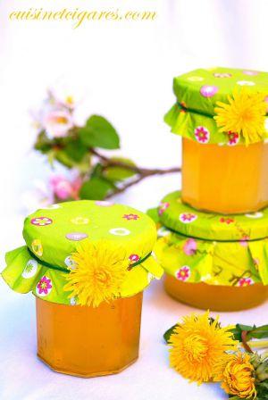 Recette Cramaillotte ou gelée ou miel de Fleurs de Pissenlits