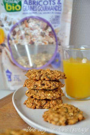 Recette Muesli cookies à la compote de pomme (vegan)