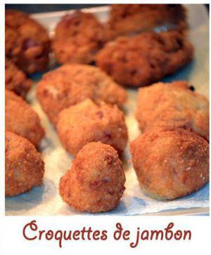 Recette Croquettes de jambon