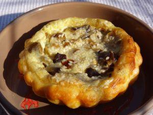 Recette L'aubergine un peu tarte - recette de tarte aux aubergines