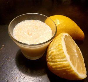 Recette Crème coco-citron au tapioca
