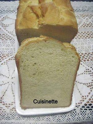 Recette Pain de mie en machine à pain