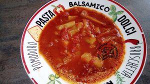 Recette Concombre chaud à la tomate (cookéo ou pas)