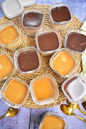 Recette Crème café et crème nutella