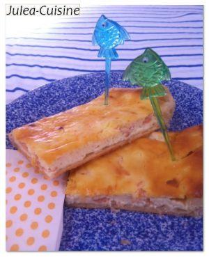 Recette Quiche saumon ricotta