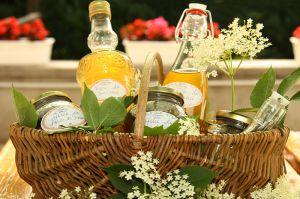 Recette Vin de fleurs Sureau, sirop de fleurs Sureau et gelée de fleurs de Sureau