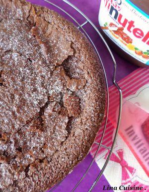 Recette Moelleux au Nutella