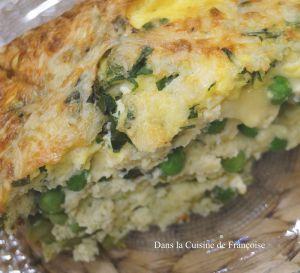 Recette Frittata de Légumes Verts