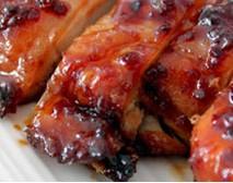 Recette Poulet laqué au miel et aux épices