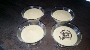 Recette Crème dessert citronnée au thermomix