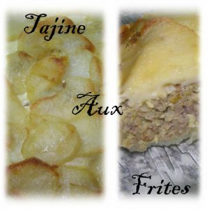 Recette Tajine aux frites