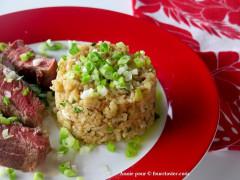 Recette Riz frit à l'oignon vert