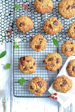Recette Biscuits crousti-fondants chocolat et noix de coco