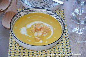 Recette Soupe de citrouille et pomme de terre
