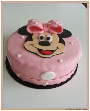 Recette Gâteaux Minnie  et Minion